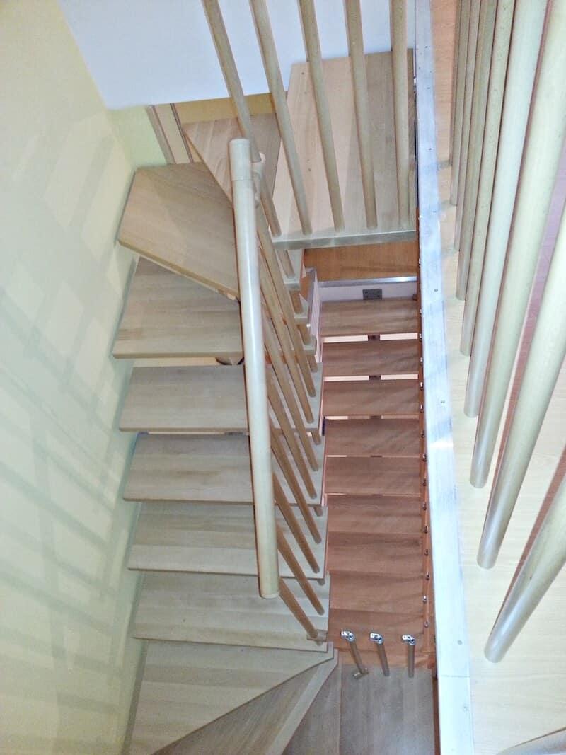 Escalera de Madera Doxa Wood 7 Orcasitas - Enesca.es