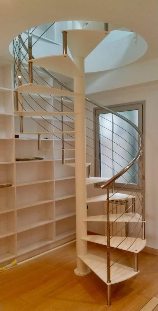 Escalera de caracol metalica | Enesca.es
