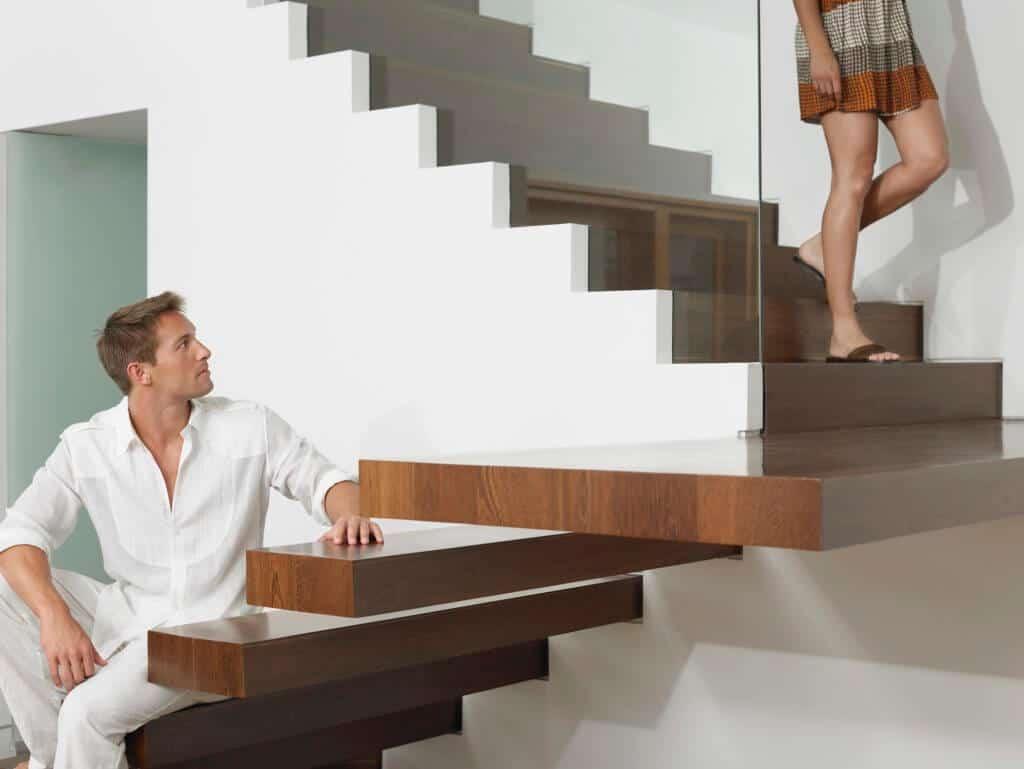 Escaleras de diseño de madera