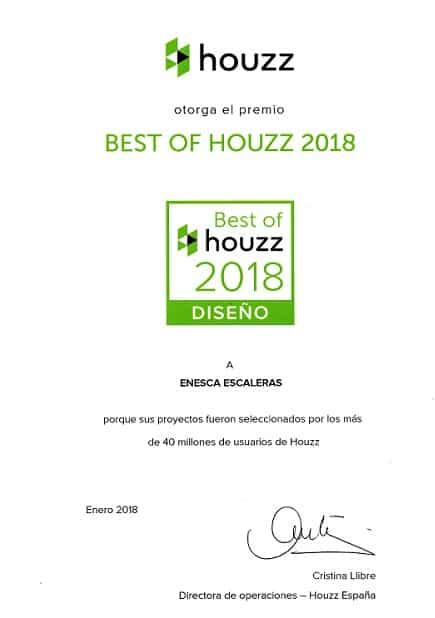 Premio Best Of Houzz 2018