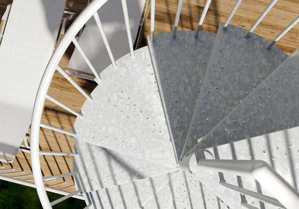 escaleras modernas exteriores