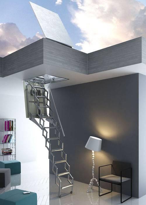 Escalera plegable Flexa Terraza Automática 300 Vip