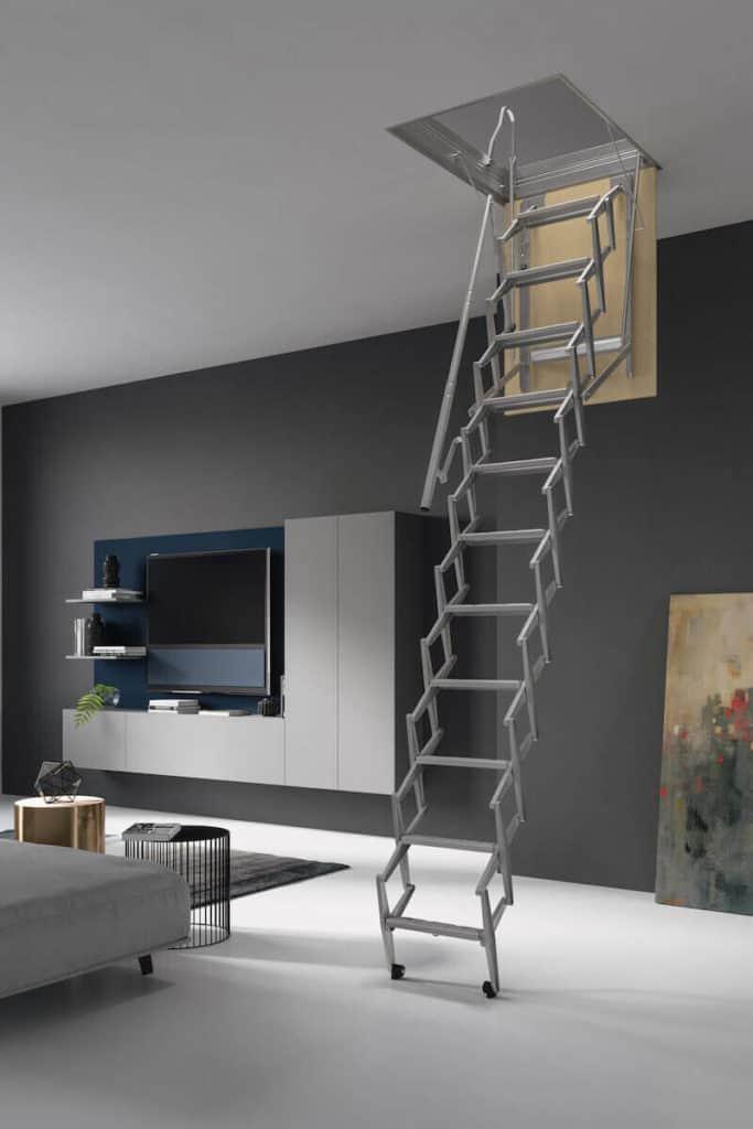 Escalera pared para techo FLEXA-S