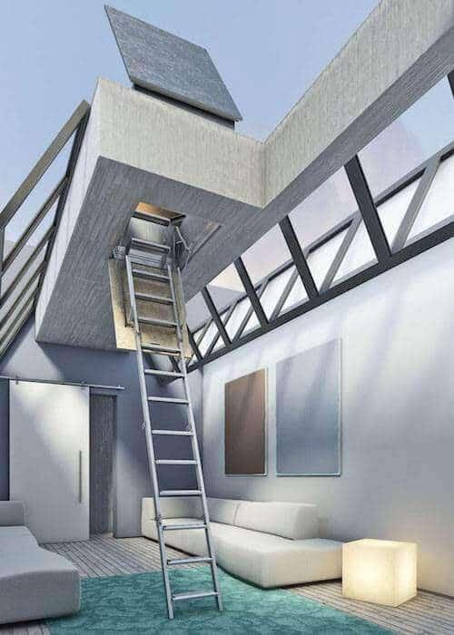 Escaleras plegables Tramo