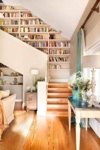 hacer un armario debajo de la escalera