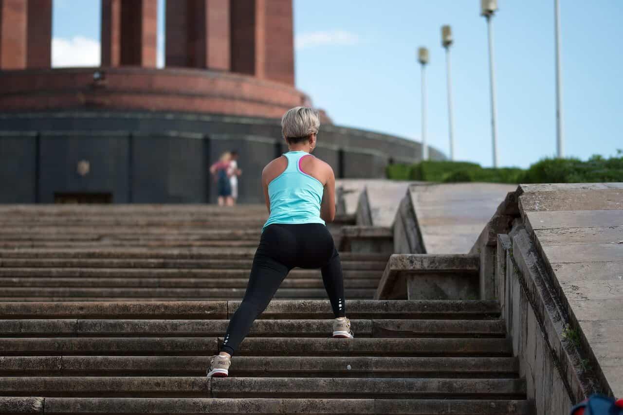 ejercicio escaleras pandemia
